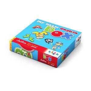 Sprachlernspiel, Sprachbox - clothes - zum Englisch Lernen für Kinder