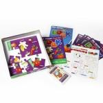 Englisch für Kinder, Lernspiel, Sprachspiel, Sprachbox fruits, vegetables, numbers. Zum Englisch Lernen für Kinder, Sprachspiele für Englisch aus Augsburg