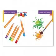 Sprachlernspiel. Sprachbox - forms and colours. Buchinnenseite ist Bestandteil der Sprachbox. Zum Englisch Lernen für Kinder.