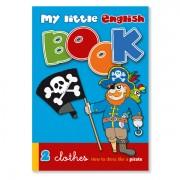 Sprachspiel Sprachbox zum Thema clothes. my little English book ist Bestandteil der Sprachlernbox clothes. Zum Englisch Lernen für Kinder