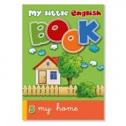 Lesebuch zur Sprachbox my home. Das Lesebuch ist Bestandteil des Sprachspiels my little English box my home, Sprachspiele für Englisch aus Augsburg