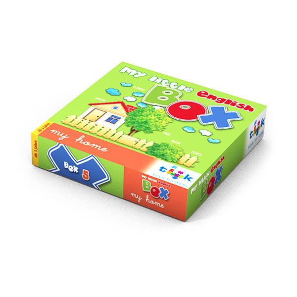 Lernspiel, Sprachspiel, Sprachbox zum Thema my home. Zum Englisch Lernen für Kinder, Sprachspiele für Englisch aus Augsburg