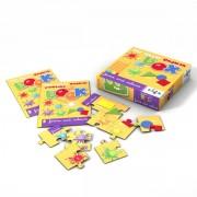 Sprachspiel Sprachbox zum Thema forms and colours. Zum Englisch Lernen für Kinder, Sprachspiele für Englisch aus Augsburg