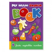 Lesebuch zur Sprachbox fruits, vegetables, numbers. Das Lesebuch ist Bestandteil des Sprachspiels my little English box fruits, vegetables, numbers, Sprachspiele für Englisch aus Augsburg