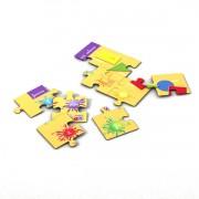 Puzzle zur Sprachbox forms and colours. Das Puzzle ist Bestandteil des Sprachspiels my little English box forms and colors, Sprachspiele für Englisch aus Augsburg