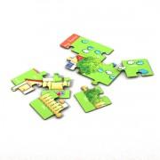 Sprachspiel Sprachbox zum Thema my home. Das Puzzle ist Bestandteil der Sprachbox. Zum Englisch Lernen für Kinder, Sprachspiele für Englisch aus Augsburg