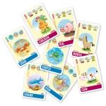 Quartett mit lustigen Tieren, Englisch für Kinder, Sprachspiel. Quartett - animals. Diese Karten sind Bestandteil des Sprachlernspiels. Sprachspiele für Englisch aus Augsburg