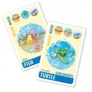 Englisch für Kinder, Sprachspiel. Quartett - animals. Diese Karten sind Bestandteil des Sprachlernspiels. Sprachspiele für Englisch aus Augsburg