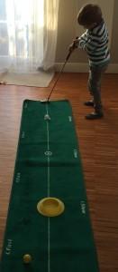 English für Kinder: Sport im Englisch-Unterricht - Playing Golf