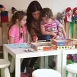 Englisch für Kinder, Workshop mit Tanja Hall und my little English box