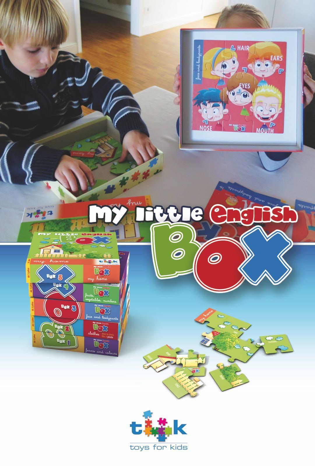 englisch lernen für Kinder, Lernspiel, Sprachspiel, Kindergarten