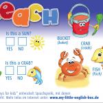 Kinderzeitung Kruschel, Beitrag Englisch-Rätsel