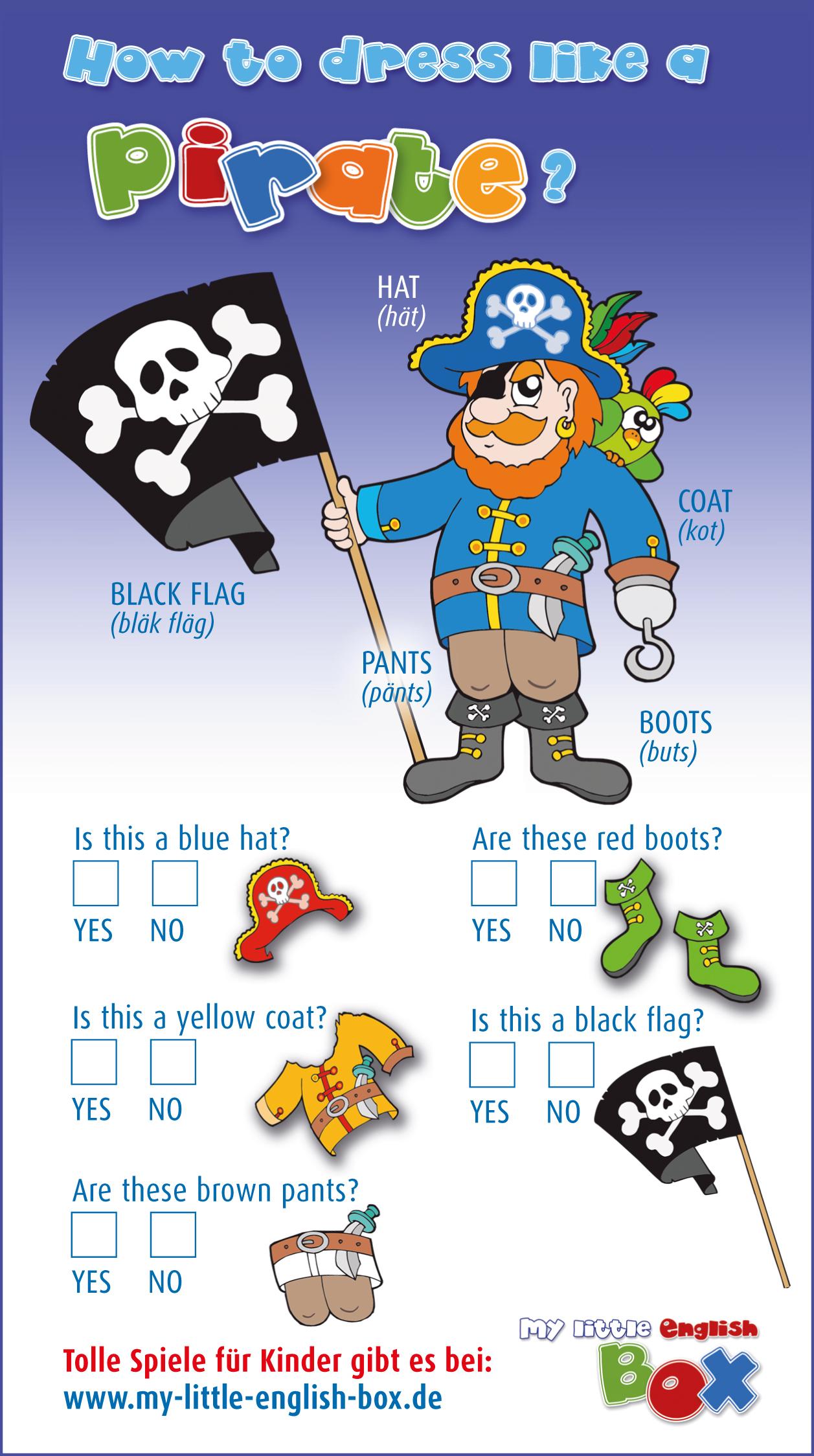 Tolle Spiele für Kinder, Englisch für Kinder