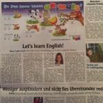 Augsburger Allgemeine Zeitung, capito, Englisch für Kinder