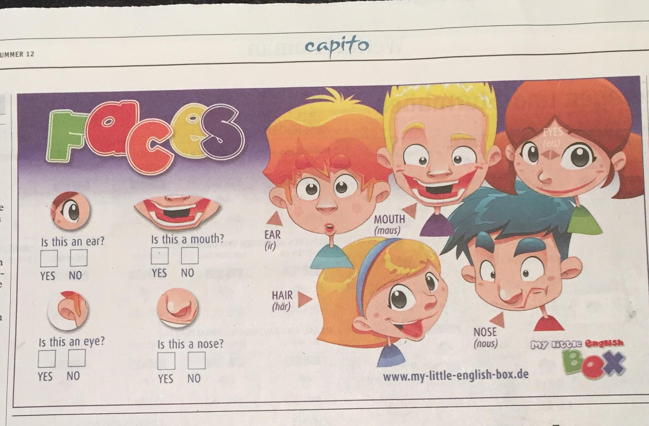 Englisch für Kinder, English for kids, Englisch lernen für Kinder, Fremdsprache, sinnvolle Spiele, Kinderspiele