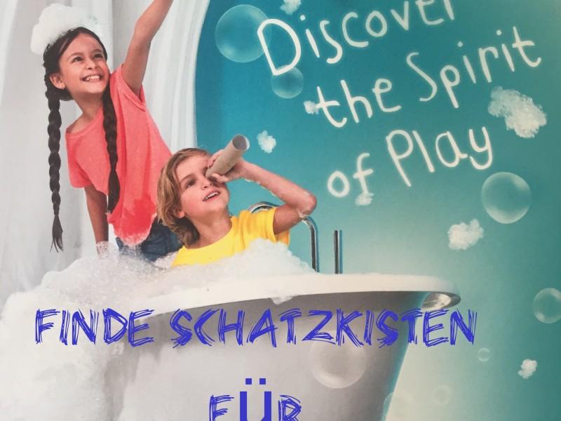 Reiseboxen für Kinder, Englisch lernen für Kinder, spielerisch Englisch lernen für Kinder, Schatzkisten