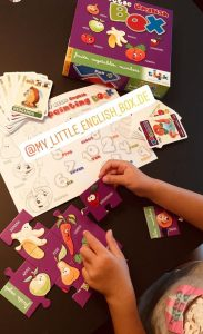 Kinder lieben My Little English Box, spielerisch Englisch lernen für Kinder, Augsburg