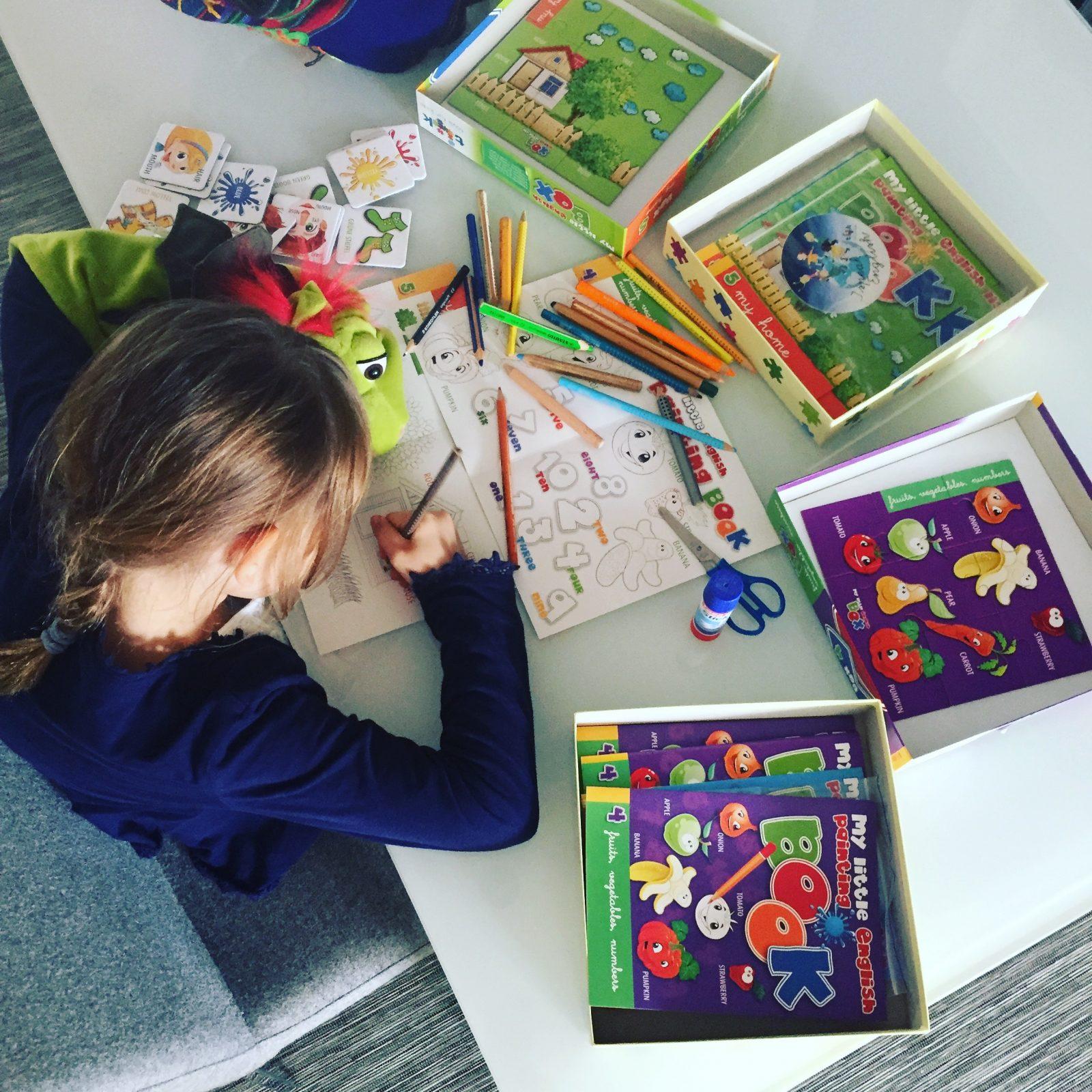 spielerisch Englisch lernen für Kinder, my Little English Box