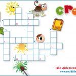 Kreuzworträtsel, spielerisch Englisch Lernen für Kinder, my Little English Box, Kindergarten, Grundschule