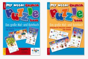 My Little English Puzzle Book, spielerisch English lernen für Kinder