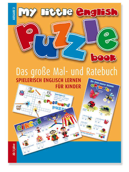 My Little English Puzzle Book, spielerisch English lernen für Kinder