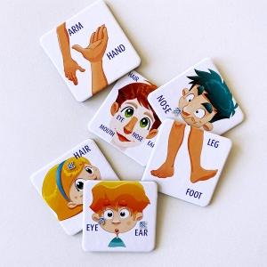 spielerisch Englisch lernen für Kinder, Sprachspiele für Kinder, Spiele für Kinder, Kinderspiele, My Little English box, Spielesammlung, Memory, Malbuch, Lesebuch, Puzzle